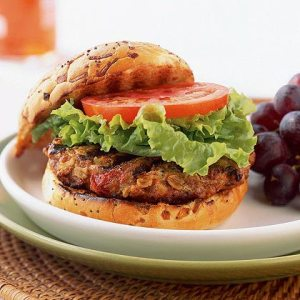 Savory Turkey Burger