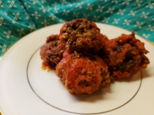 Black Bean Vegan Meatballs