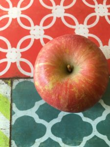 Allergy-free allergy apple snack