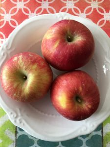 Allergy-free apple snack
