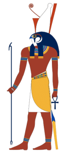 Horus, god of the sky and kingship