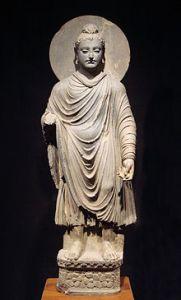 Standing Buddha statue, Tokyo National Museum