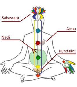 Kundalini Chakra Diagram