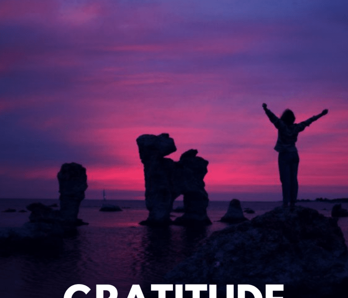 You Never Miss a Good Thing 'Til It's Gone… -The Importance Of Practicing Gratitude.