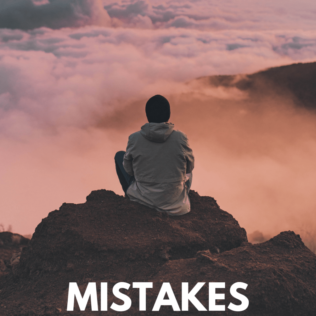 own your mistakes