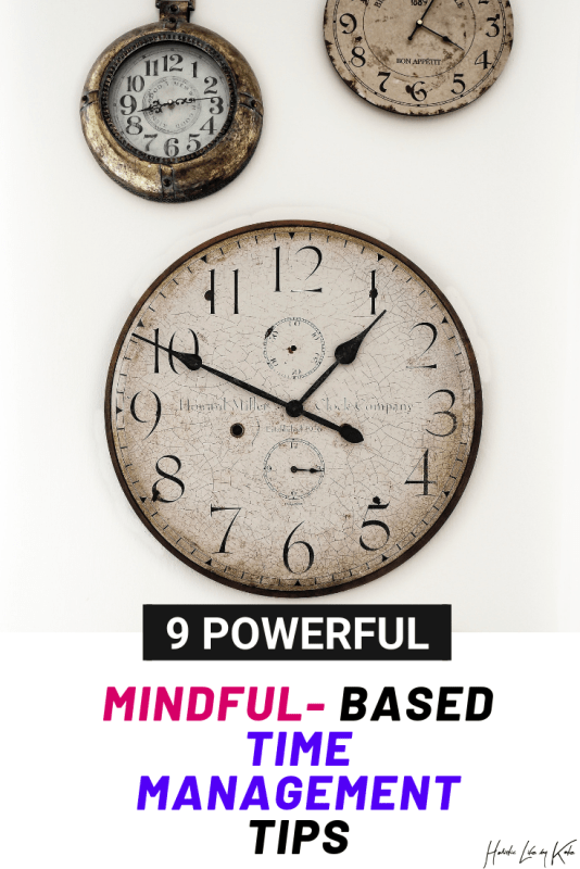 simple ways to manage your time effectively