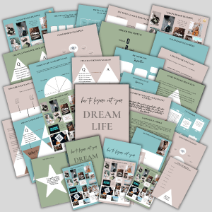 figure out your dream life workbook