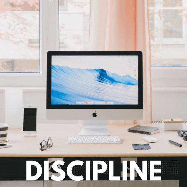 how to develop a solid self-discipline