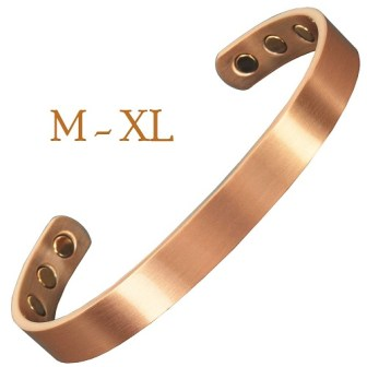 Copper Magnetic Bracelet for Pain Copper Bracelet for Arthritis Magnetic Therapy Bracelet for Pain Relief - CSL