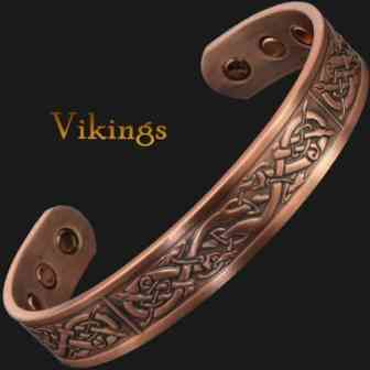 Mens Copper Bracelets Arthritis Viking Bracelet Magnetic Bracelet for Pain – Vikings