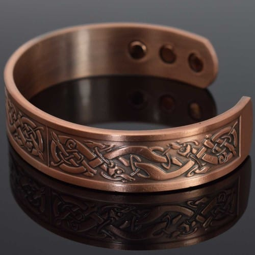 Mens Copper Bracelets Arthritis Viking Bracelet Magnetic Bracelet for Pain – Vikings