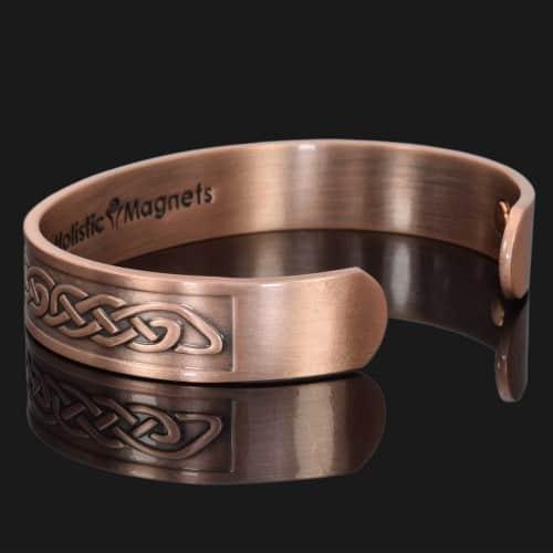 copper bracelet for arthritis magnetic bracelet health pain relief therapy bracelet bangle celtic eternity knot