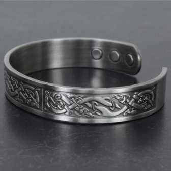 magnetic bracelet for men copper bracelet for arthritis health bangle healing pain relief bracelet viking bracelet for men vp