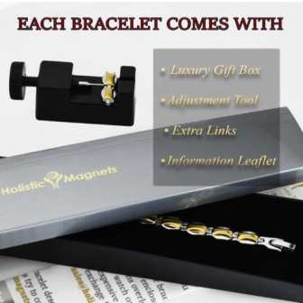 ladies magnetic therapy bracelet ion energy balance bracelet health healing pain relief womens wristband
