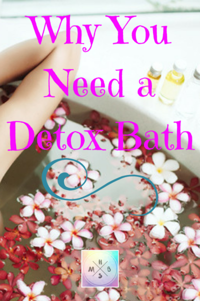 Why You Need a Detox Bath