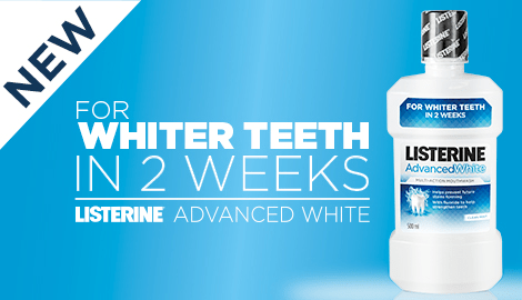 Advanced White Listerine Mouth Wash