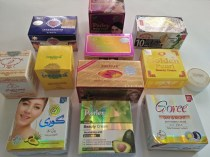 Collection of products on the market in Manila, Phillipines