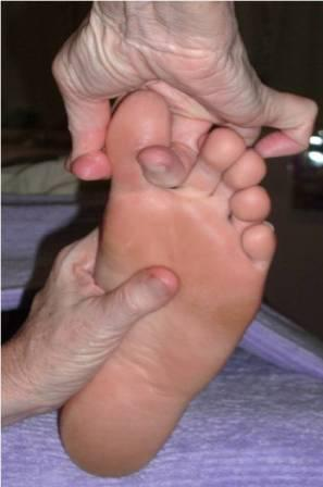 Big toe connects to spirit and unity; defines ego and self-righteousness