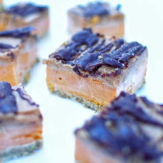 Sweet Potato Caramel Slice