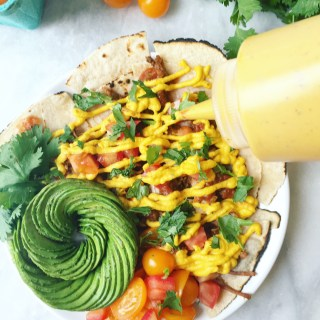 Vegan and Paleo Nacho Cheese