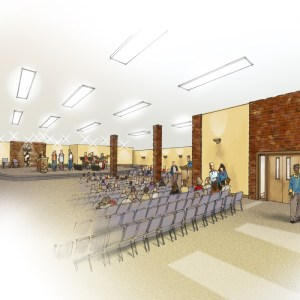 Rendering of Future Sanctuary Remodeling Concept