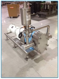Waukesha U2 Pump Assembly with By-Pass and Pressure Relief Valve