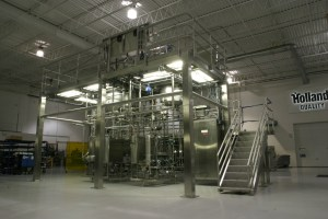 Sanitary Process Module in Holland's Shop