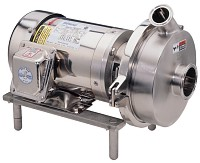 All Wetted Parts on the Waukesha S200 Series Pump are Machined from Wrought Material