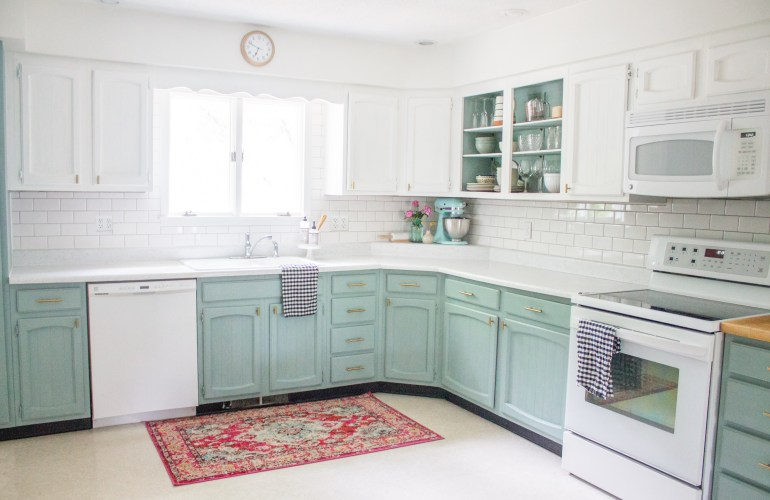 Chalk Painted Kitchen Cabinets Two Years Later | Holland ...