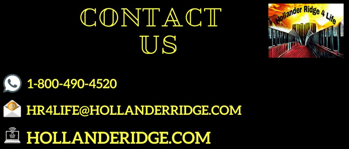 Contact Us Page Hollanderridge.com