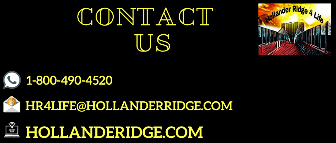 Contact Us Page Hollanderridge.com