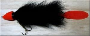 Beaversbait Black Orange Head