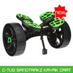 railblaza Ctuc sandtrakz kayak trolley