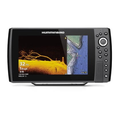 Hollandlures HUMMINBIRD HELIX 10 CHIRP MEGA DI+ GPS G4N 411410-1 front