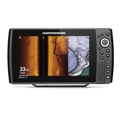 Hollandlures HUMMINBIRD HELIX 10 CHIRP MEGA SI+ GPS G4N 411420-1M front