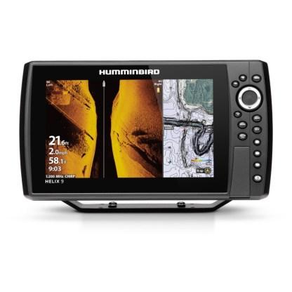 Hollandlures HUMMINBIRD HELIX 9 CHIRP MEGA SI+ GPS G4N 411380-1M Front