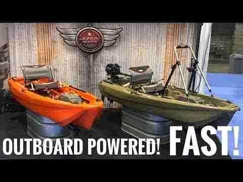 Hollandlures JonnyBoats Bass 100 visboot
