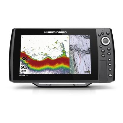 Hollandlures HUMMINBIRD HELIX 10 CHIRP GPS G4N 411400-1 front down