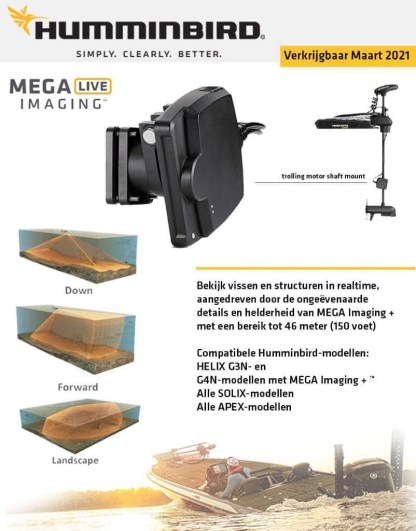 Hollandlures Humminbird Mega Live Imaging 1