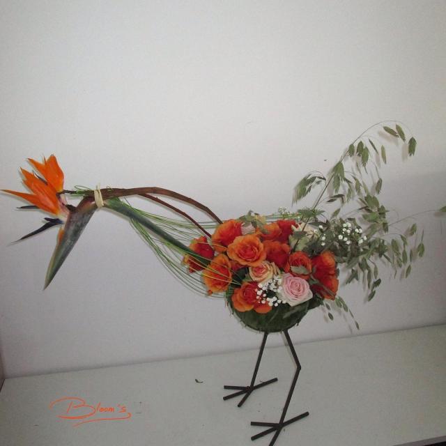 Amazing flowerwork made by Anne Guns florist bloemist floristik sierteelthellip