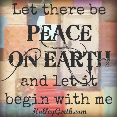 Peace on Earth by HolleyGerth.com
