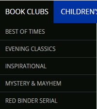 book club menu image