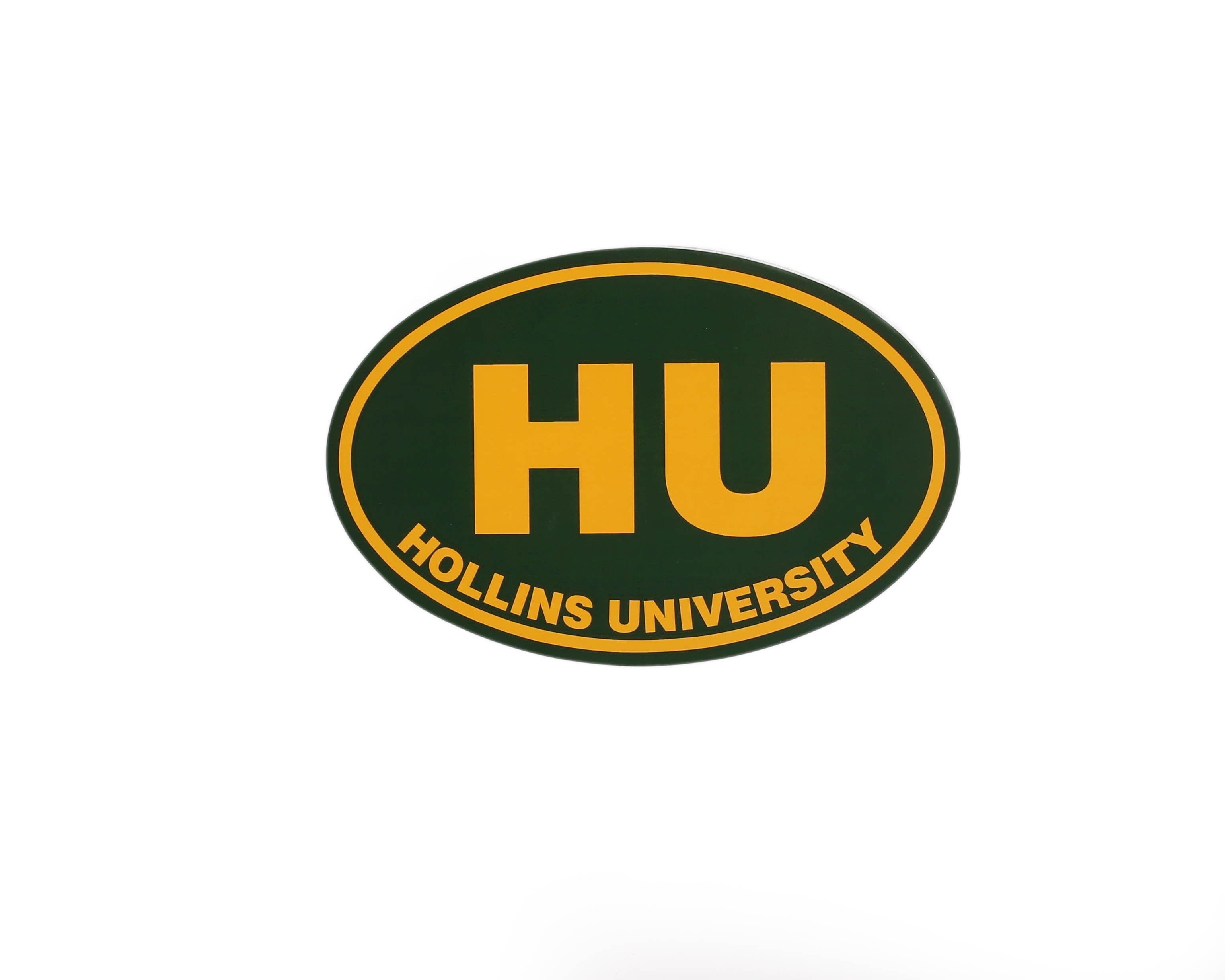 Hollins Oval Decal