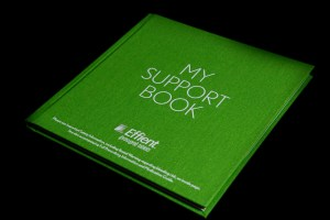 Book & Publishing My Support Book Pearl Linen color match