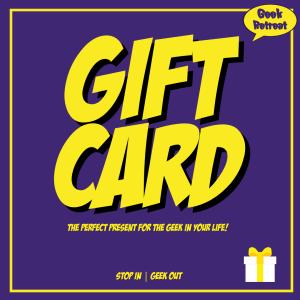 Geek Retreat Gift Card
