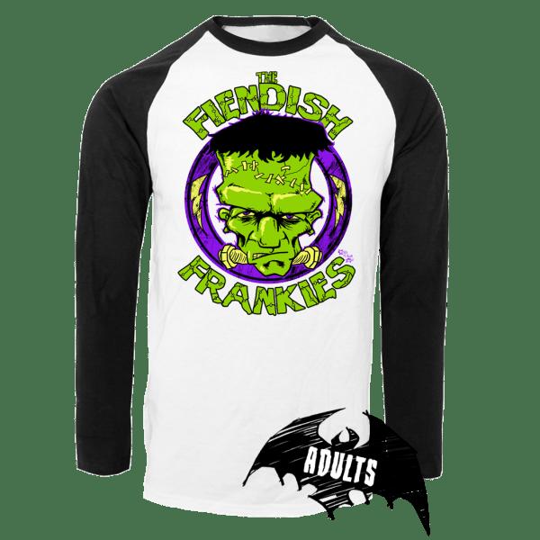 The Fiendish Frankies Baseball T-Shirt