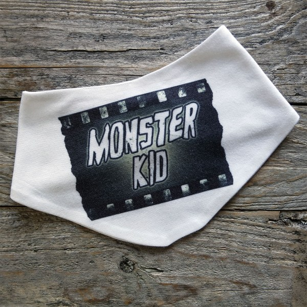 Monster Kid Baby Bib