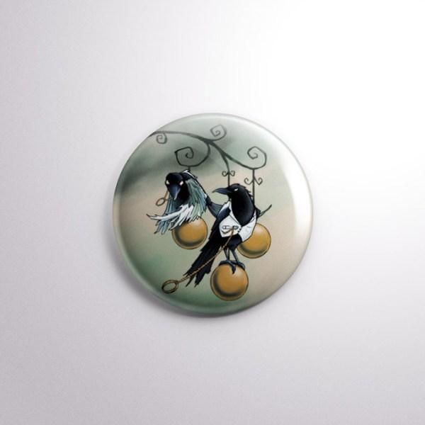 Lovebirds Badge