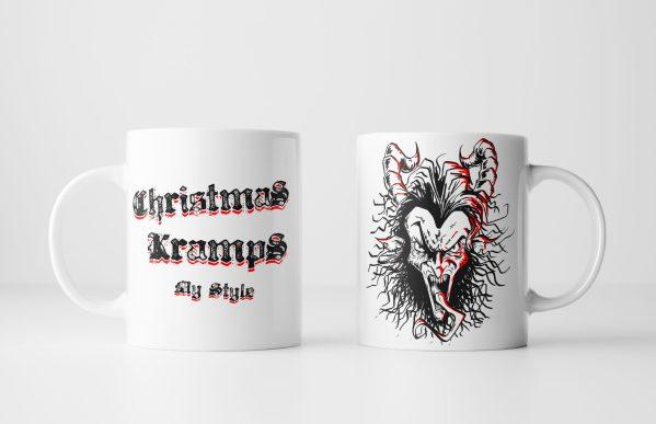 Both Sides of Christmas Kramps My Style Mug - Krampus mug