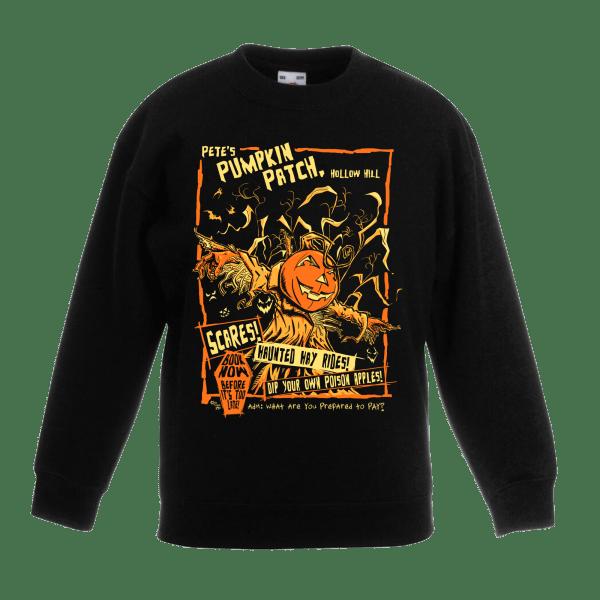 Pete's Pumpkin Patch Kids Sweatshirt